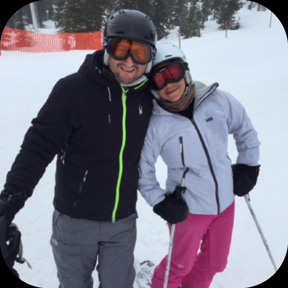Skiing Big White Resort