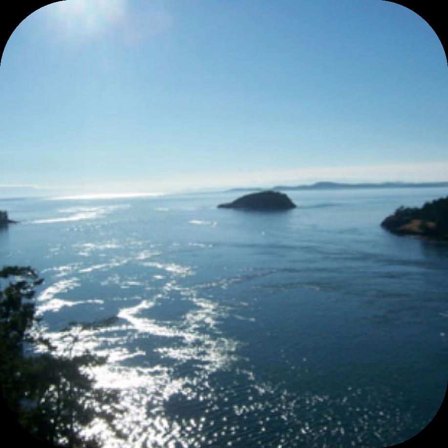 Strait of San Juan de Fuca, Whidbey Island, WA